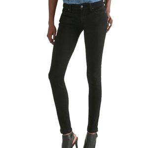 Lucky Brand Charlie Skinny Jeans in Black Wash